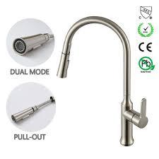 single handle high arc kitchen faucet shop for d amour kitchen faucet modern brass single handle high