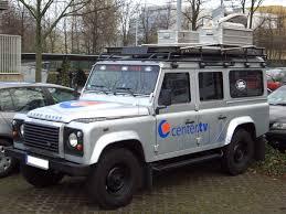 land rover 110 truck file land rover defender 110 gen1 broadcast vehicle center tv