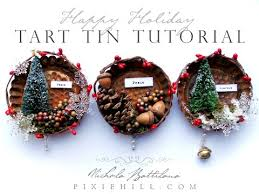 simple tart tin ornament tutorial
