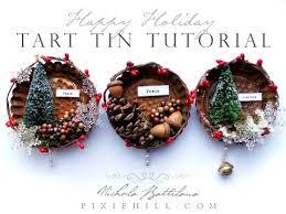 simple tart tin ornament tutorial