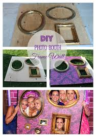 diy photo booth frame diy photo booth picture wall for 10 construction2style