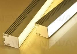 linear led sign lighting modern architectural linear suspension led luminaire light 100cm