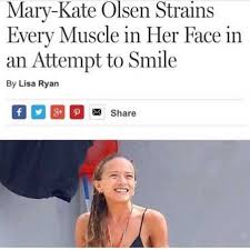 Every Meme Face - dopl3r com memes mary kate olsen strains every muscle in her