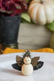 diy thanksgiving turkey place cards