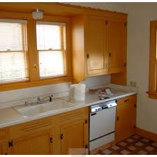 kitchen old classic style design with stainless steel sink of