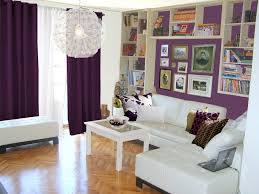 Purple Curtains For Living Room Living Room Design Of Black And Purple For Living Room Ideas