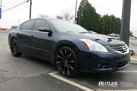 nissan altima black rims nissan altima vehicle gallery at butler tires and wheels in