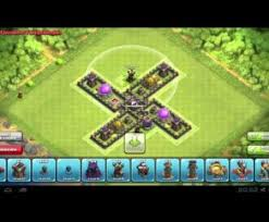 layout design th7 clash of clans epic th7 farming base layout part 3 clash of clans play