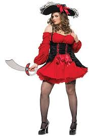 Size 5x Halloween Costumes Size Vixen Pirate Costume