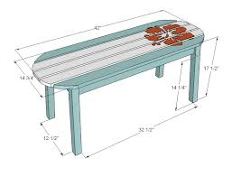Coffee Table Height Standard Height For A Coffee Table Home Design And Pictures