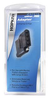 amazon com hopkins 47515 4 wire flat to 5 wire flat adapter