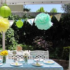 elegant summer backyard baby shower ideas baby shower ideas gallery