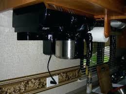under cabinet coffee maker rv rv coffee maker under cabinet rv coffee maker under cabinet 5wh info