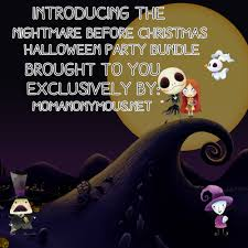 exclusive and complimentary the nightmare before christmas