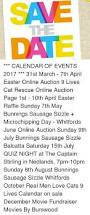let calendar of events 2017 31st march 7th april easter
