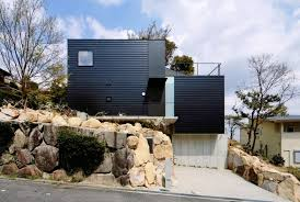 house built on slope plans house and home design