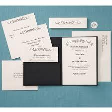 Diy Wedding Invitations Kits Pocket Wedding Invitations Kits Cloveranddot Com