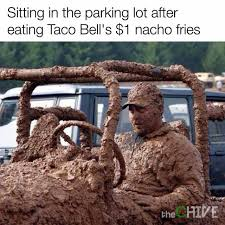 Make Your Own Fry Meme - dopl3r com memes sitting in the parking lot after eating taco