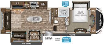 Montana Fifth Wheel Floor Plans Reflection Fifth Wheel 337rls Grand Design Rv