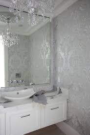 wallpapered bathrooms ideas the cross decor design bathrooms powder room powder room