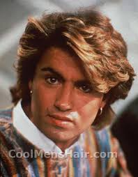 1980s feathered hair pictures george michael hair styles cool men s hair