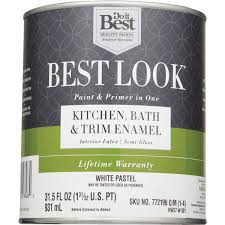 do it best best look latex paint u0026 primer in one kitchen bath