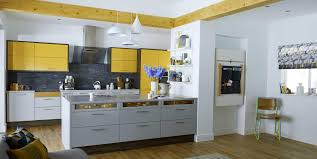 Grey And Yellow Kitchen Ideas Gray And Yellow Kitchen