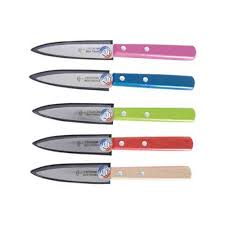 les couteaux de cuisine le couteau de cuisine bleu personnalisé à votre propre style