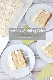 vanilla wedding cake created by diane