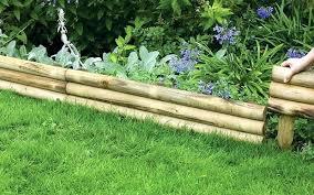 Timber Garden Edging Ideas Wooden Landscape Edging Theaffluencenetworkbonus Club