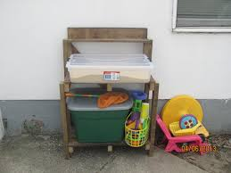 Diy Kids Storage Bench Ana White Simple Potting Bench Turned Sand Table Outdoor Toy