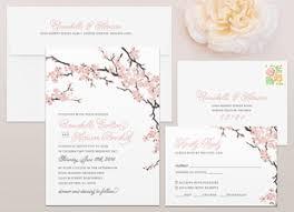 cherry blossom wedding invitations cherry blossoms products mallory design