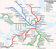 Green Line Boston Map by Stockholm Metro Wikipedia