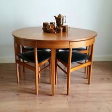 Mid Century Dining Table And Chairs Fab Vintage Retro Mid Century 60s Teak Hans Olsen Style Dining