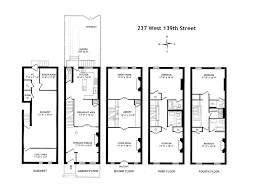 charleston row house floor plans house list disign
