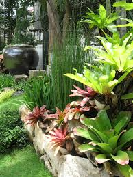 Pretty Plants by Exterior Satisfying Garden Landscaping Ideas Water Jars Stone