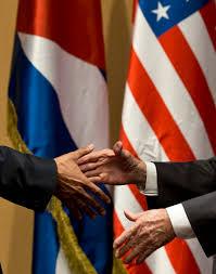 Cuban Flag Images 1 000 Words The Handshake Newscut Minnesota Public Radio News