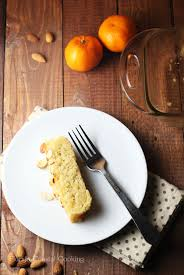 vegan and gluten free orange almond pound cake