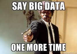 Sassy Black Lady Meme - graphic for big data buzzword overload grandiose data delusions