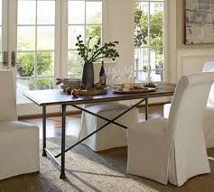 Pottery Barn Seagrass Chair by Dining Room Tables Austin Austin Walnut Table With Four Chairs