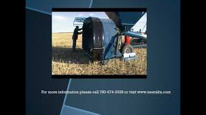 grain bag install video on neeralta grain bagger youtube
