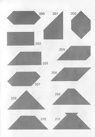 figuras geometricas todas soluciones tangram descubre cómo formar las figuras