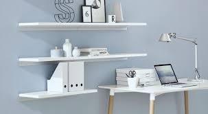 white wall shelves high gloss satin finished regalraum com