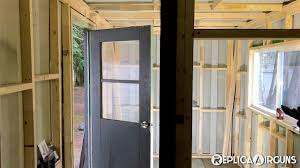 window framing shipping container project all framed with window u0026 doors youtube