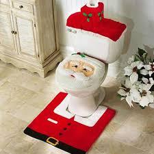 santa claus snowman bathroom christmas decoration set u2013 gaia spot
