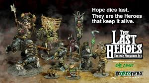 Blinded By The Light Nero The Last Heroes Fantasy Miniature Set By Orconero U2014 Kickstarter