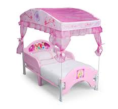 girls bed with canopy delta children disney princess canopy toddler bed baby toddler