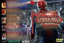 spider man ultimate collection custom dvd cover r0