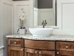 Vanity With Granite Countertop White Ice Granite Countertops Bathroom Vanity Countertops Ideas