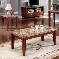 steve silver crowley end table steve silver company montibello 3 piece marble coffee table set in